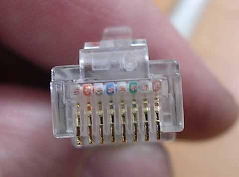 rj45-konnektör
